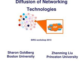 Diffusion of Networking Technologies