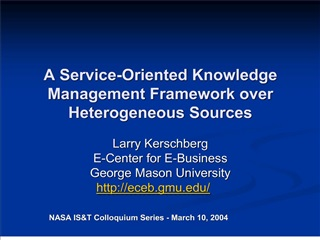A Service-Oriented Knowledge Management Framework over ...