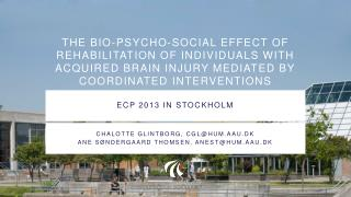 ECP 2013 in STockholm