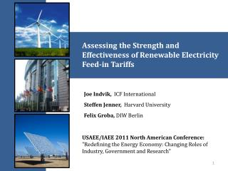 Assessing the Strength and Effectiveness of Renewable Electricity Feed-in Tariffs