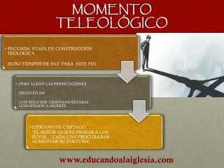 MOMENTO  TELEOLÓGICO