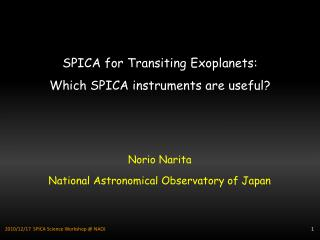 SPICA for Transiting  Exoplanets : Which SPICA instruments are useful?