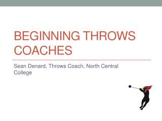 Beginning Throws Coaches