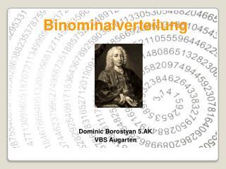 Binominalverteilung Dominic  Borostyan  5.AK VBS  Augarten