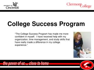 the power of uc … close to home