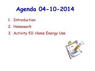 Agenda 04-10-2014
