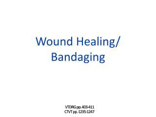 Wound  Healing/ Bandaging