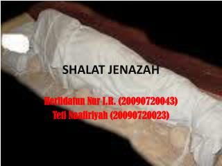 SHALAT JENAZAH