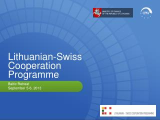 Lithuanian-Swiss Cooperation Programme