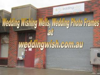 Wedding Wishing Wells