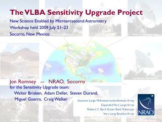 The VLBA Sensitivity Upgrade Project
