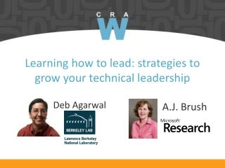 Learning how to lead: strategies to grow your technical leadership