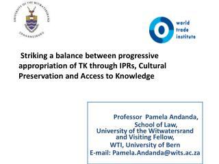 Professor   Pamela Andanda,