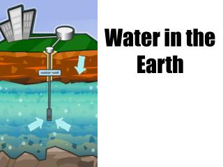 Water in the Earth