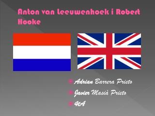 Anton  van  Leeuwenhoek  i  Robert  Hooke