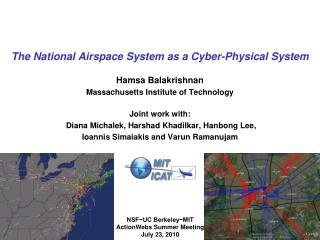 The National Airspace System as a Cyber-Physical System