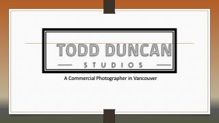 Commercial Photography Vancouver