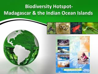 Biodiversity Hotspot- Madagascar & the Indian Ocean Islands�