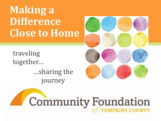 Making a Difference Close to Home