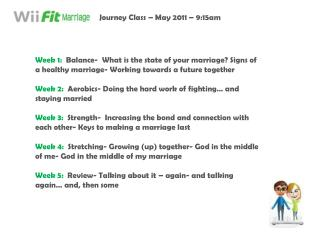 Journey Class – May 2011 – 9:15am
