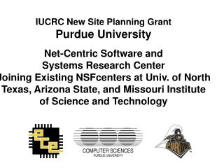 Industry and Purdue and NSF