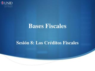 Bases Fiscales