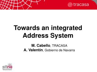 Towards an integrated Address System