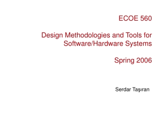 RTOS Design  Implementation