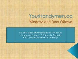 Windows And Doors Ottawa