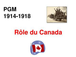 PGM 1914-1918
