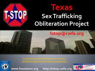 Texas  Sex Trafficking Obliteration Project