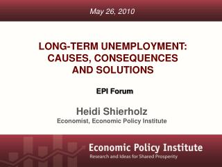 Long-term unemployment:  causes, consequences  and solutions