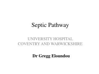 Septic Pathway