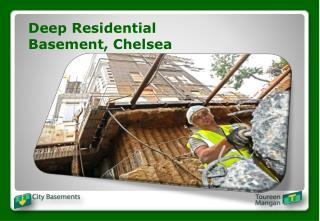 Deep Residential Basement, Chelsea