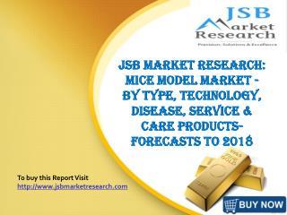 JSB Market Research: Mice Model Market