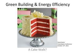 Green Building & Energy Efficiency