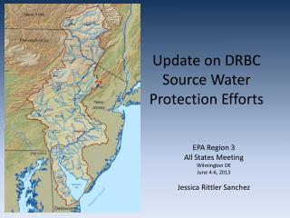 Update on DRBC Source Water Protection Efforts