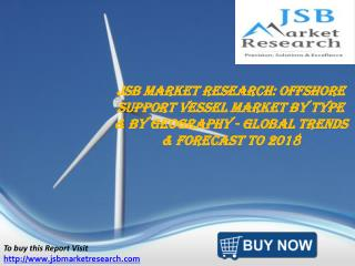 JSB Market Research: Offshore Support Vessel Market