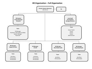HR  Organisation – Full Organisation