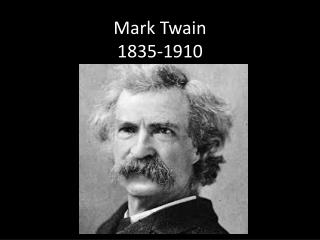 Mark Twain 1835-1910