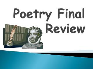 Poetry Final Review