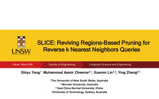 SLICE: Reviving  Regions-Based Pruning  for Reverse k Nearest  Neighbors  Queries