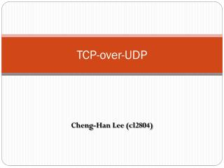 TCP-over-UDP