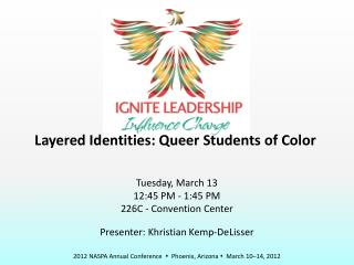 Layered Identities: Queer Students of Color