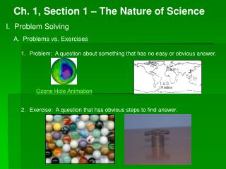 Ch. 1, Section 1 – The Nature of Science