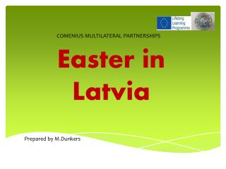 Easter  in Latvia