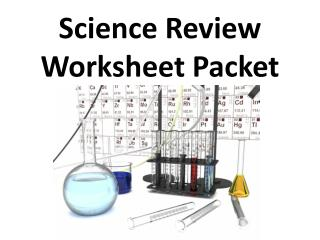 Science Review Worksheet Packet