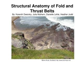 Structural Anatomy of Fold and Thrust Belts