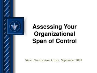 Assessing Your Organizational Span of Control