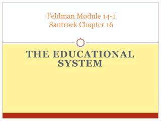 Feldman Module 14-1 Santrock Chapter 16